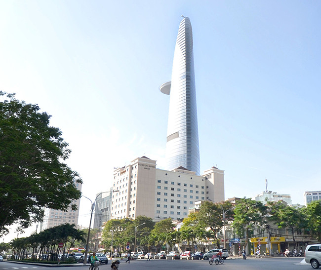 The Bitexco Financial Tower. Image Courtesy of Derek Hoeferlin
