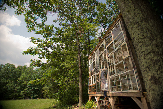 A House Made of Windows, Courtesy of Colossal, thisiscolossal.com