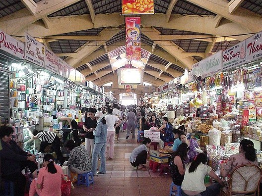 The Bến Thành Market in Ho Chi Minh City was formally established in 1859. Image © Wikimedia Commons