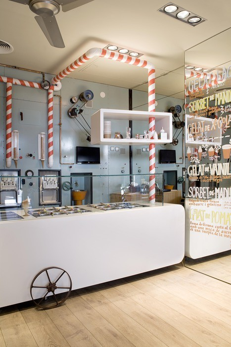 Europe (Bar): Rocambolesc Gelateria (Spain) / Sandra Tarruella Interioristas. Image