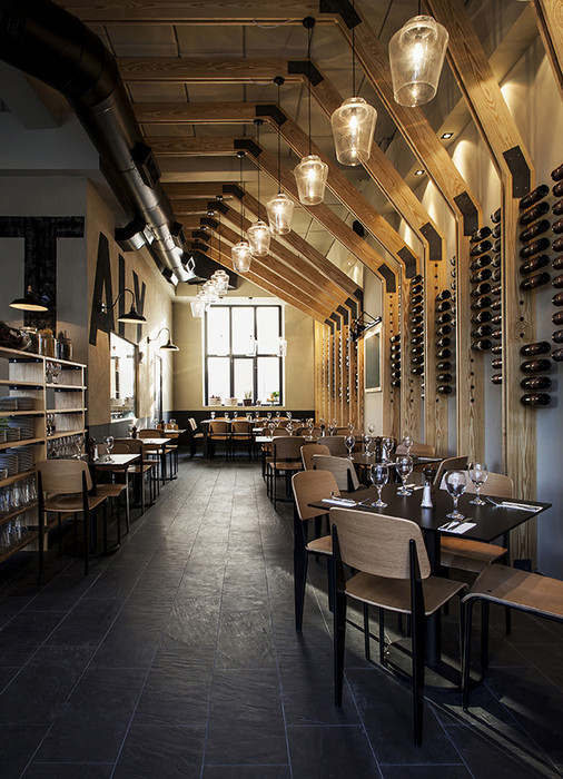 2013 restaurant bar design award winners archdaily - Bar cuisine studio ...