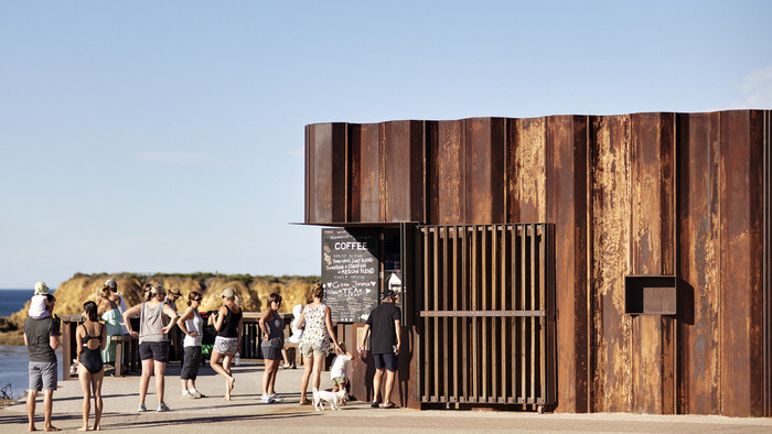 Cantina: Third Wave Kiosk (Australia) / Tony Hobba Architects. Imagen