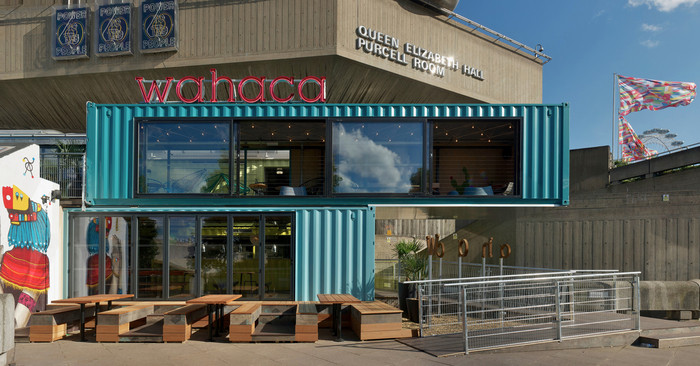 Pop Up: The Wahaca Southbank Experiment (UK) / Softroom. Imagen