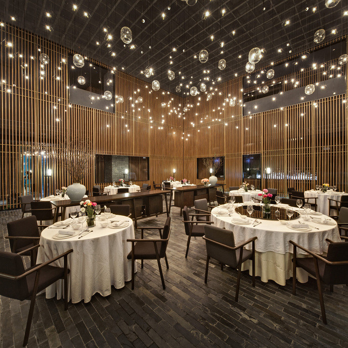 Lighting: The Feast (China) / Neri&Hu Design & Research. Image