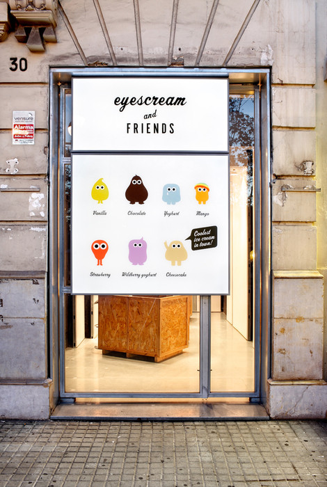 Identity: Eyescream & friends (Spain) / Estudio m Barcelona. Image
