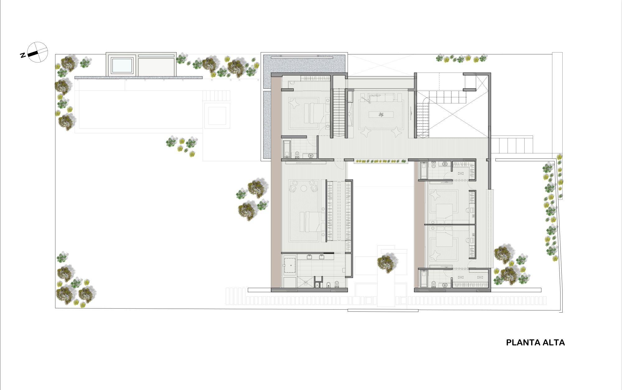 Gallery of la planicie house ii oscar gonzalez moix 26 for Oscar plans