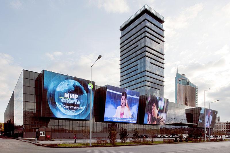 Astana Medya Center / Tabanlıoğlu Architects, © Thomas Mayer