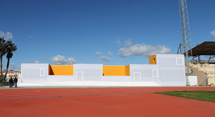 Multifunctional Building and Sports Facility / GANA Arquitectura, Courtesy of GANA Arquitectura