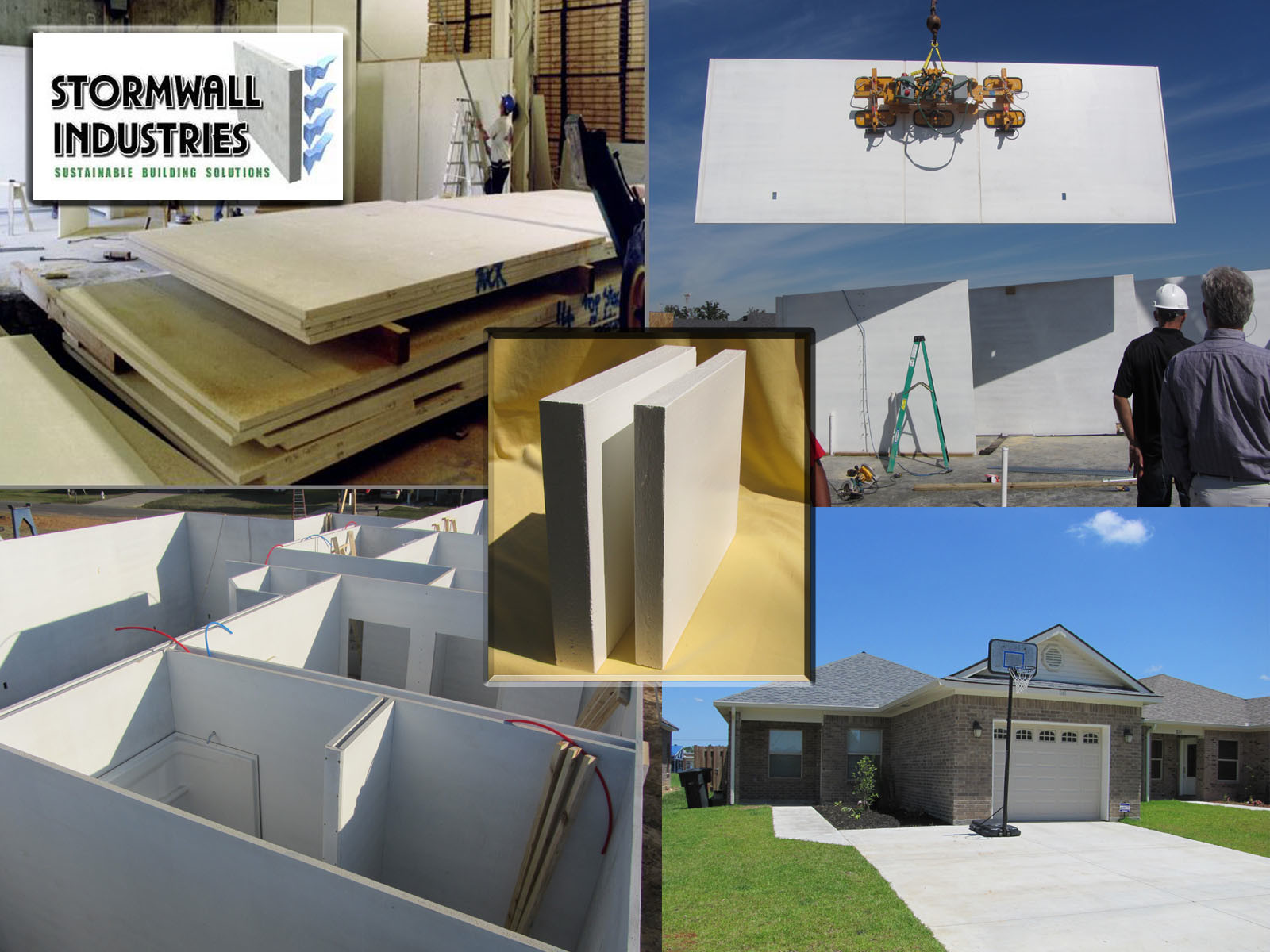 StormWall Panels. Image Courtesy of StormWall Industries via Cradle to Cradle