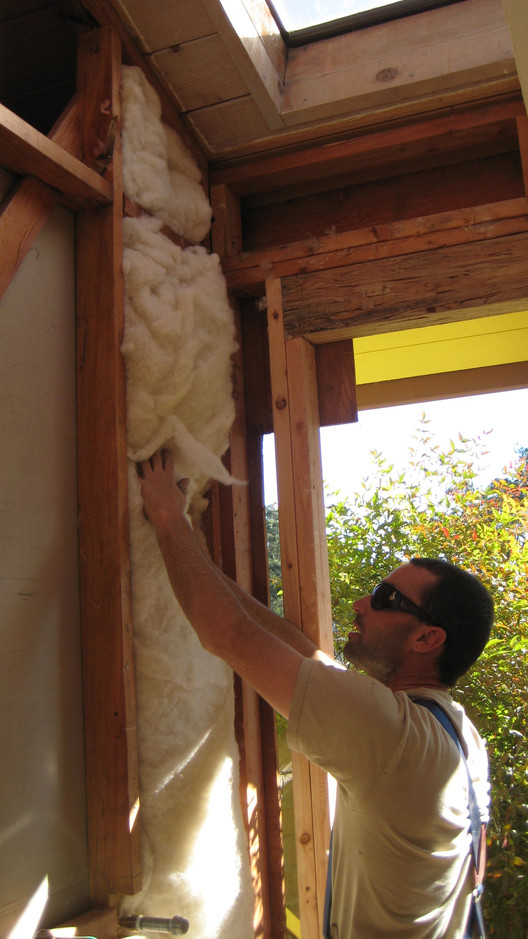 Softbatts Sheep's Wool Insulation. Image Courtesy of Bellwether Materials via Cradle to Cradle