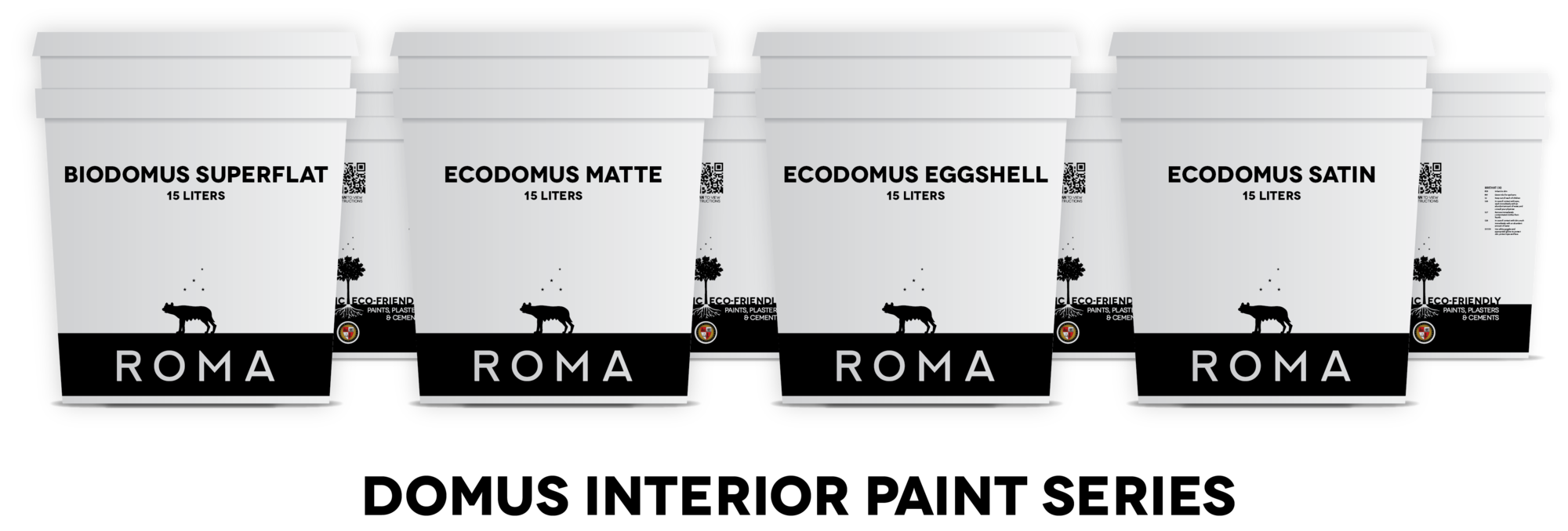 Domus Mineral Paints. Image Courtesy of ROMA via Cradle to Cradle