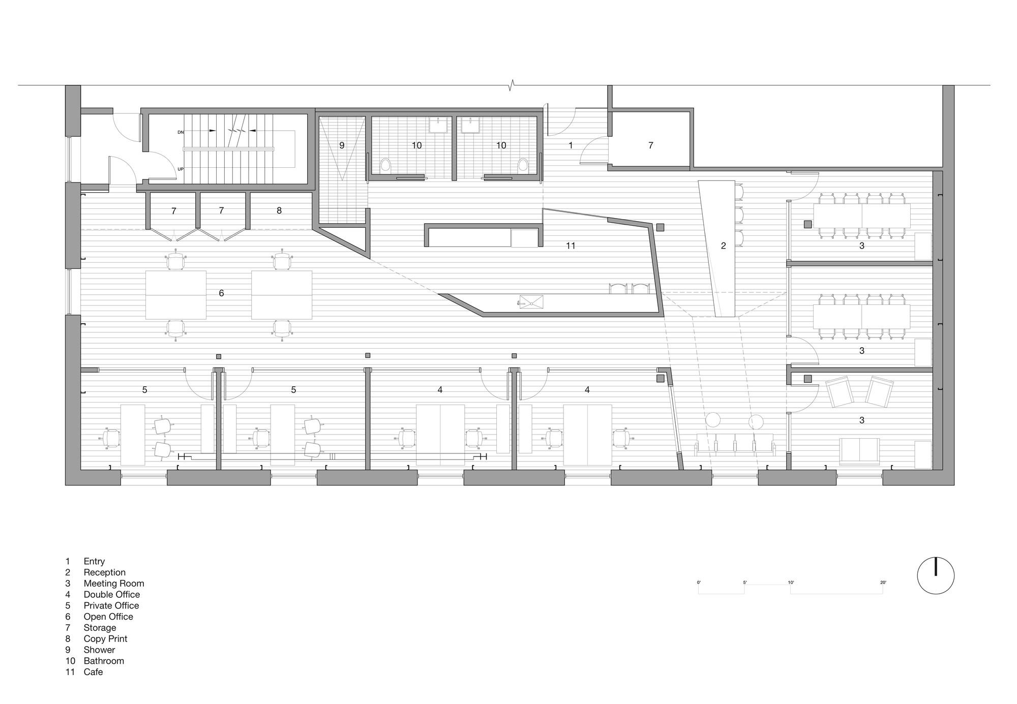 Gallery Of Index Ventures Garcia Tamjidi Architecture