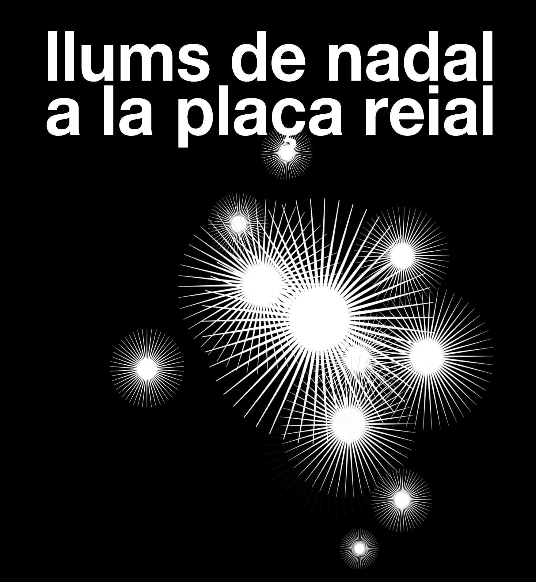 Concurso para la iluminación de Navidad de la Plaza Real de Barcelona , Courtesy of Racons Public