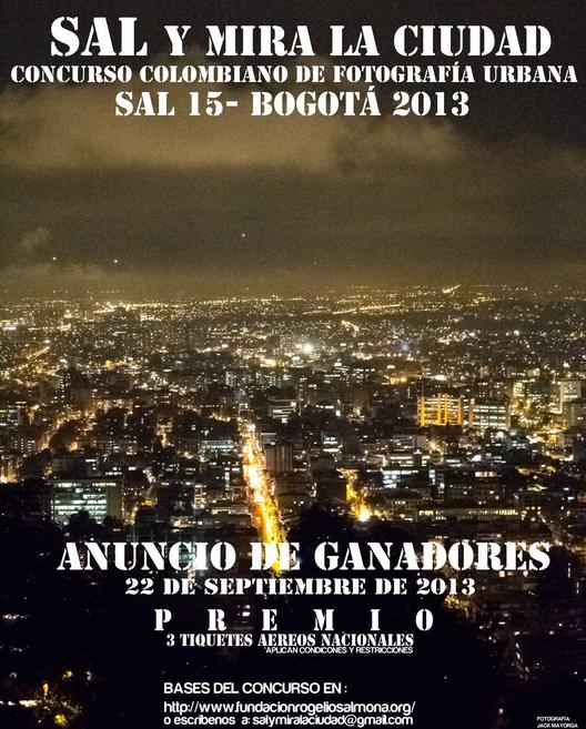SAL15 Bogotá, Arquitectura y Espacio Urbano: Memorias del futuro