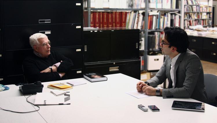 Iman Ansari and Peter Eisenman, New York 2013. Image Courtesy of an-onymous.com