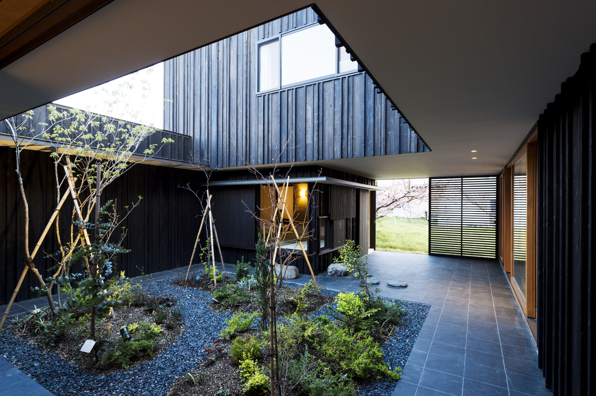 Gallery Of Courtyard House In Peach Garden Takeru Shoji