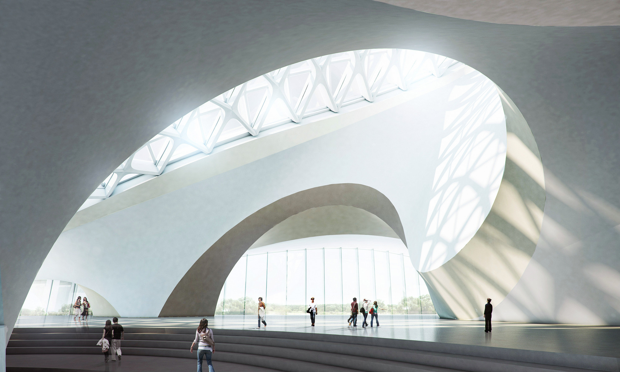 Gallery Of Harbin Cultural Center Mad Architects 2