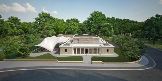 The Serpentine Sackler Gallery. Image Courtesy of Zaha Hadid Architects
