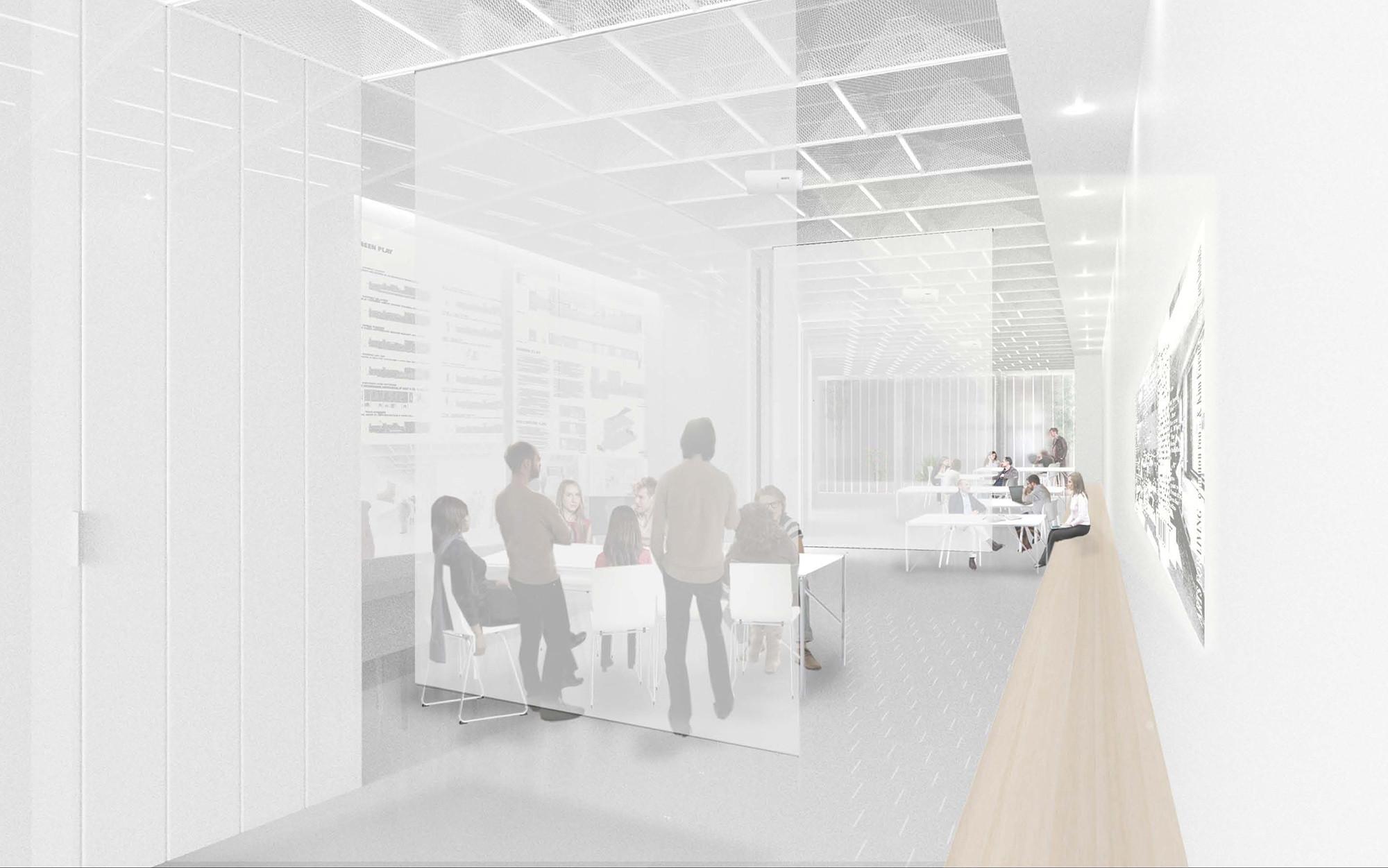 Office scenario. Image © Collective-LOK