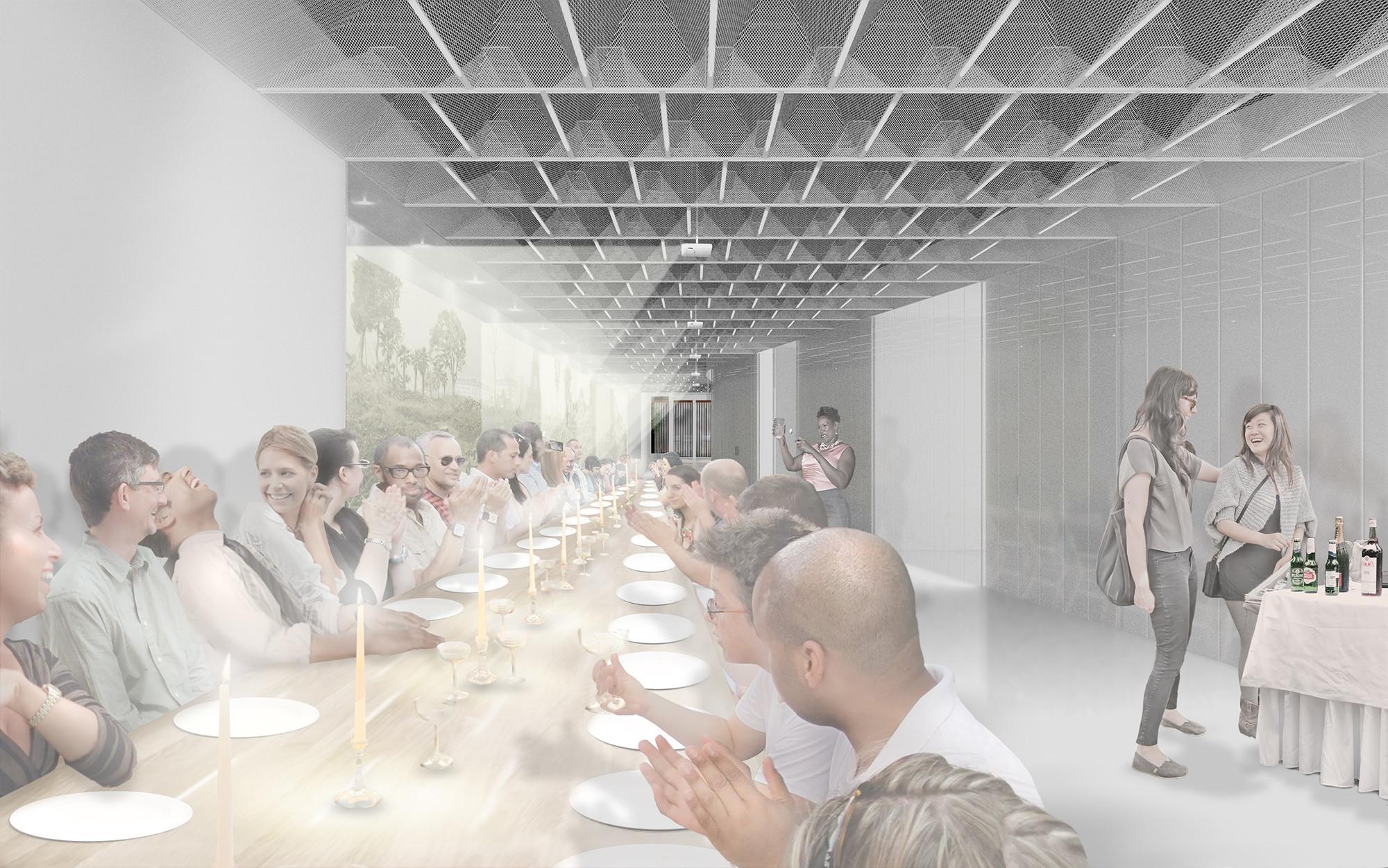 Dinner scenario. Image © Collective-LOK
