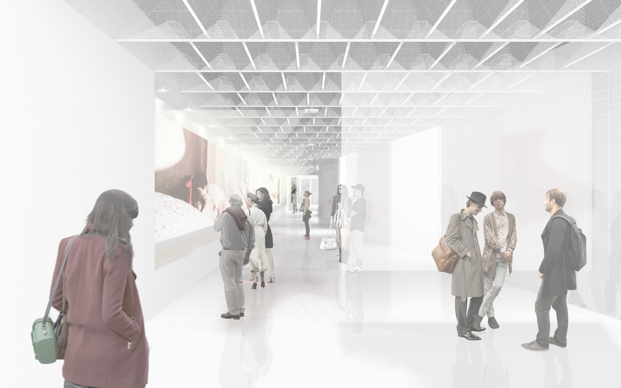 Multi-projection exhibition scenario. Image © Collective-LOK