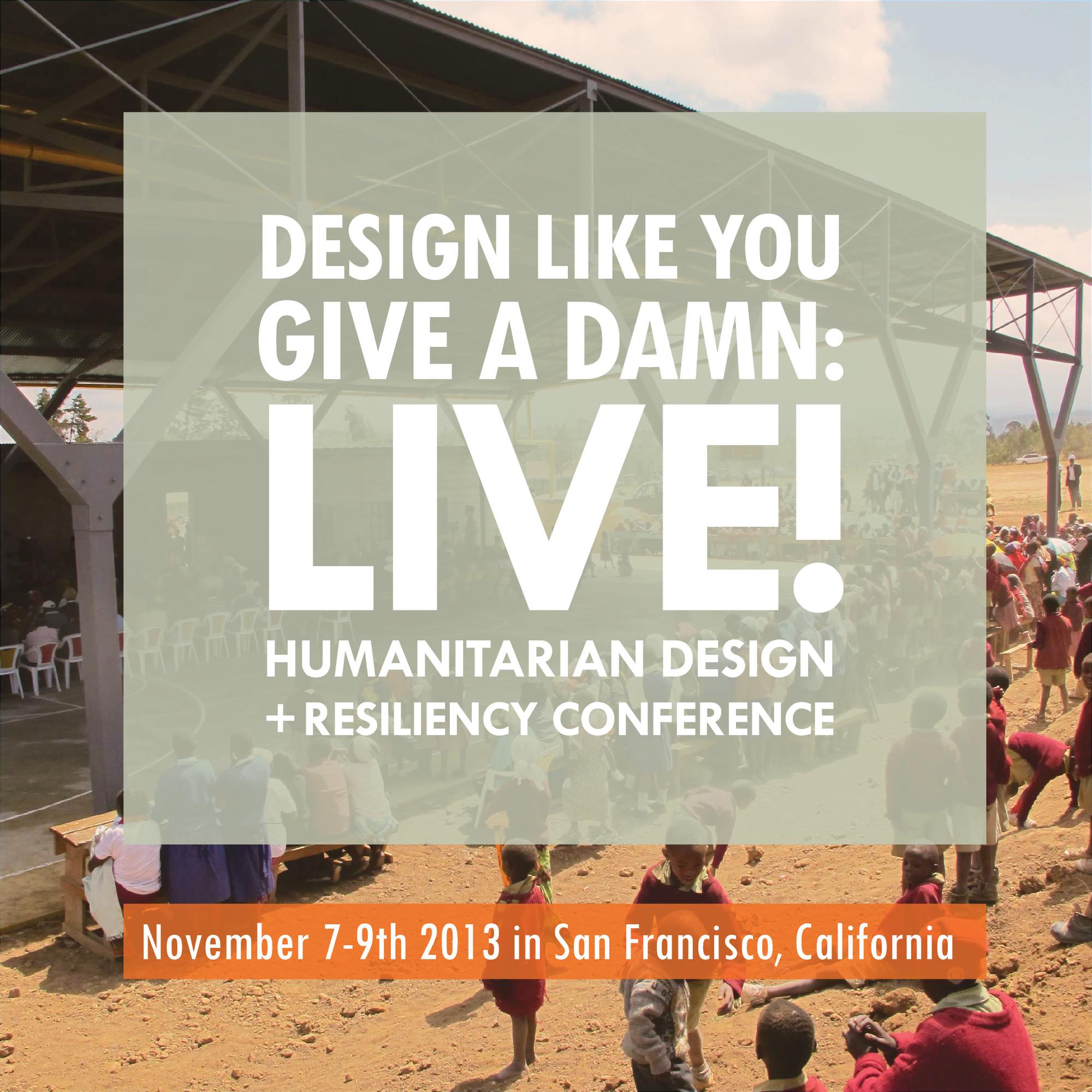 Design Like You Give a Damn: LIVE!