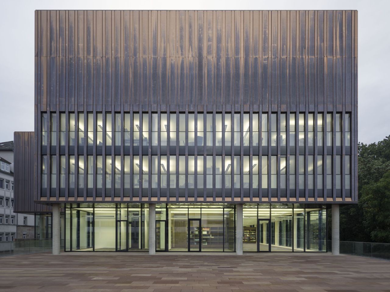 State Archive of the Evangelical Lutheran Church of Bavaria / gmp Architekten, © Heiner Leiska