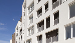 26 Low-energy Public Housing Units and Shops / aEa - agence Engasser + associés
