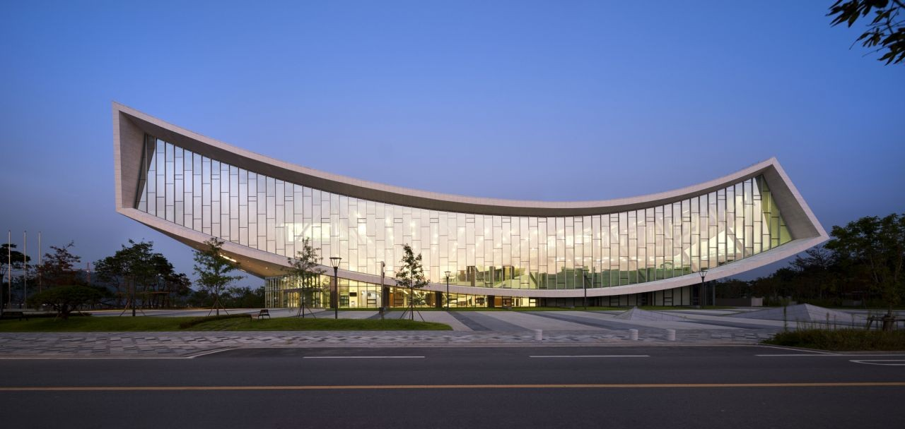 Gallery Of National Library Of Sejong City Samoo