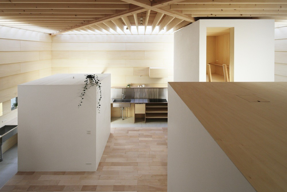 Gallery of light walls house ma style architects 5 for Japanese minimalist interior design