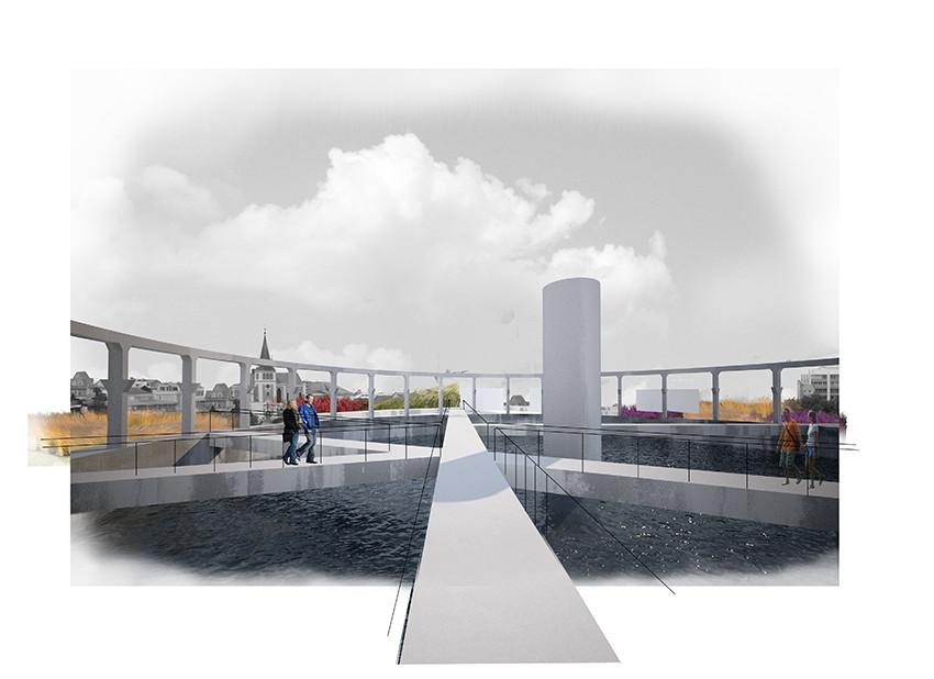 Segundo Lugar Concurso Nacional Reconversión Sitio Estanque: Weber_Bergh Taller de Arquitectura, Courtesy of Weber_Bergh Taller de Arquitectura