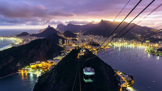 VIsta de Rio De Janeiro. Imagen ©  SCIENTIFANTASTIC