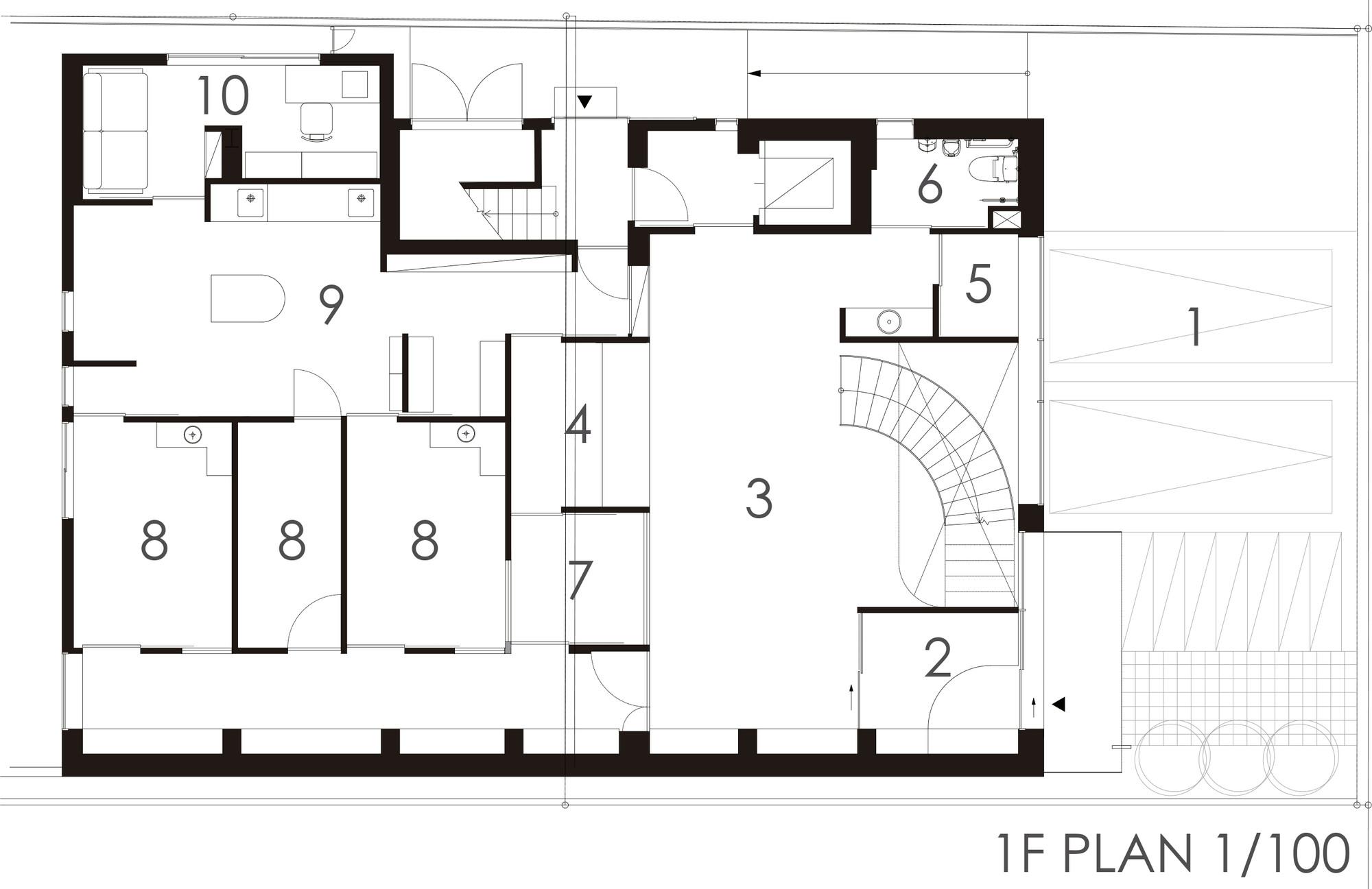 General Hospital Floor Plan Gallery Of Pony Pediatric Dental Clinic Masahiro