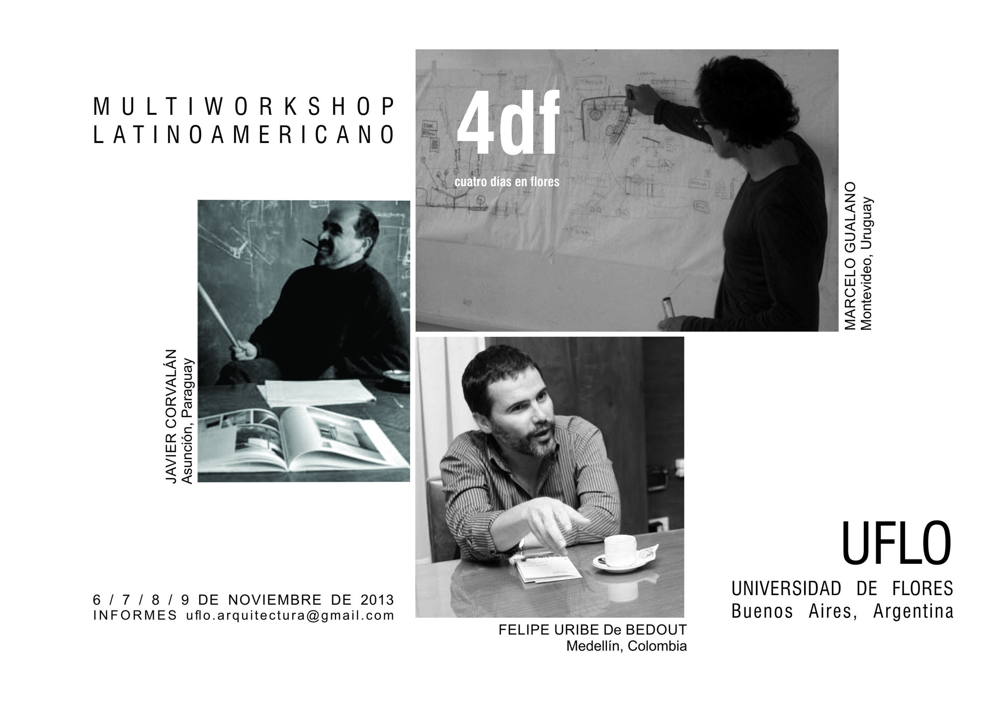 4 Días en Flores - Multiworkshop Latinoamericano, Courtesy of Universidad de Flores