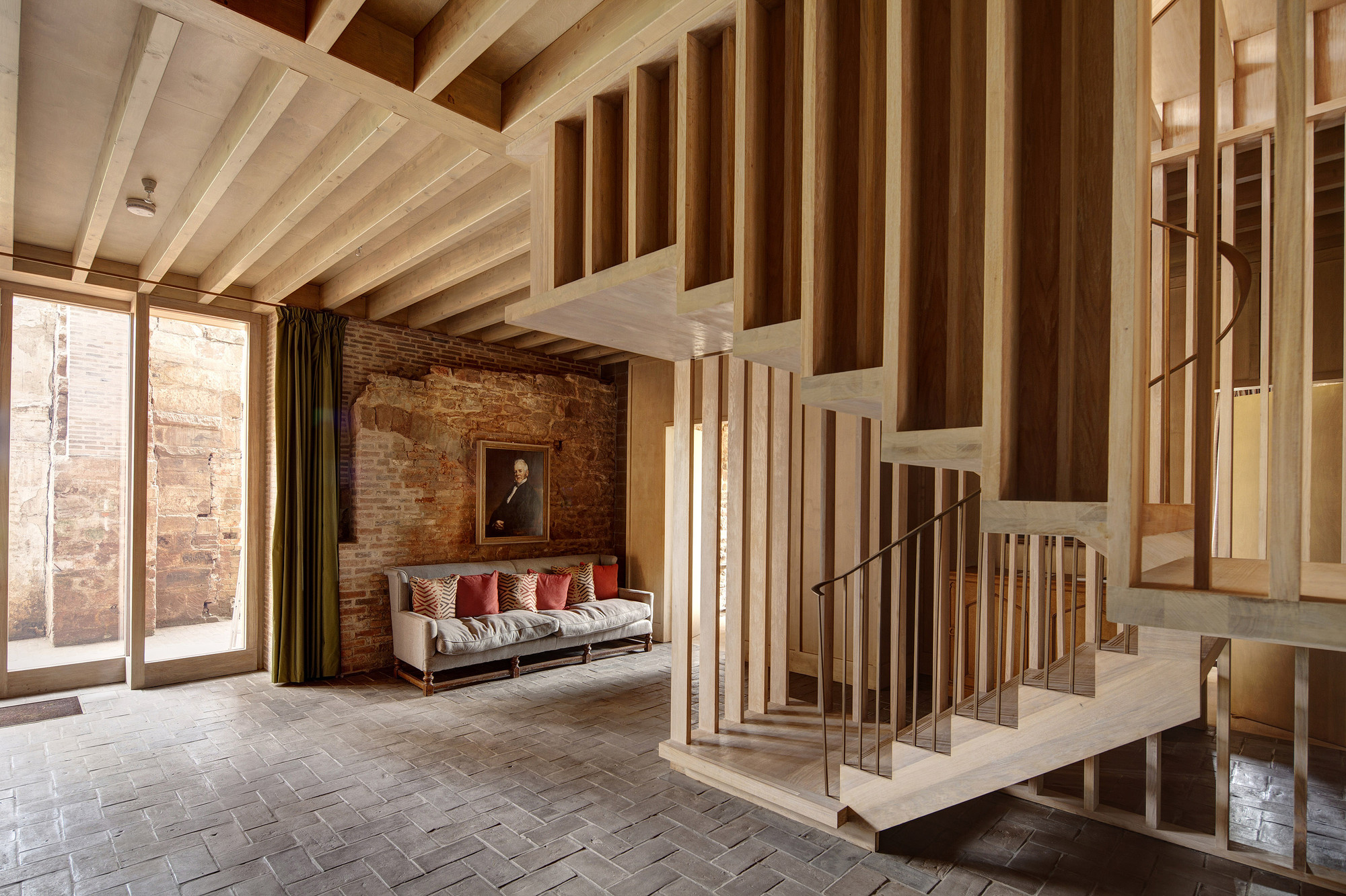 Astley castle tag archdaily for Wooden hotel design