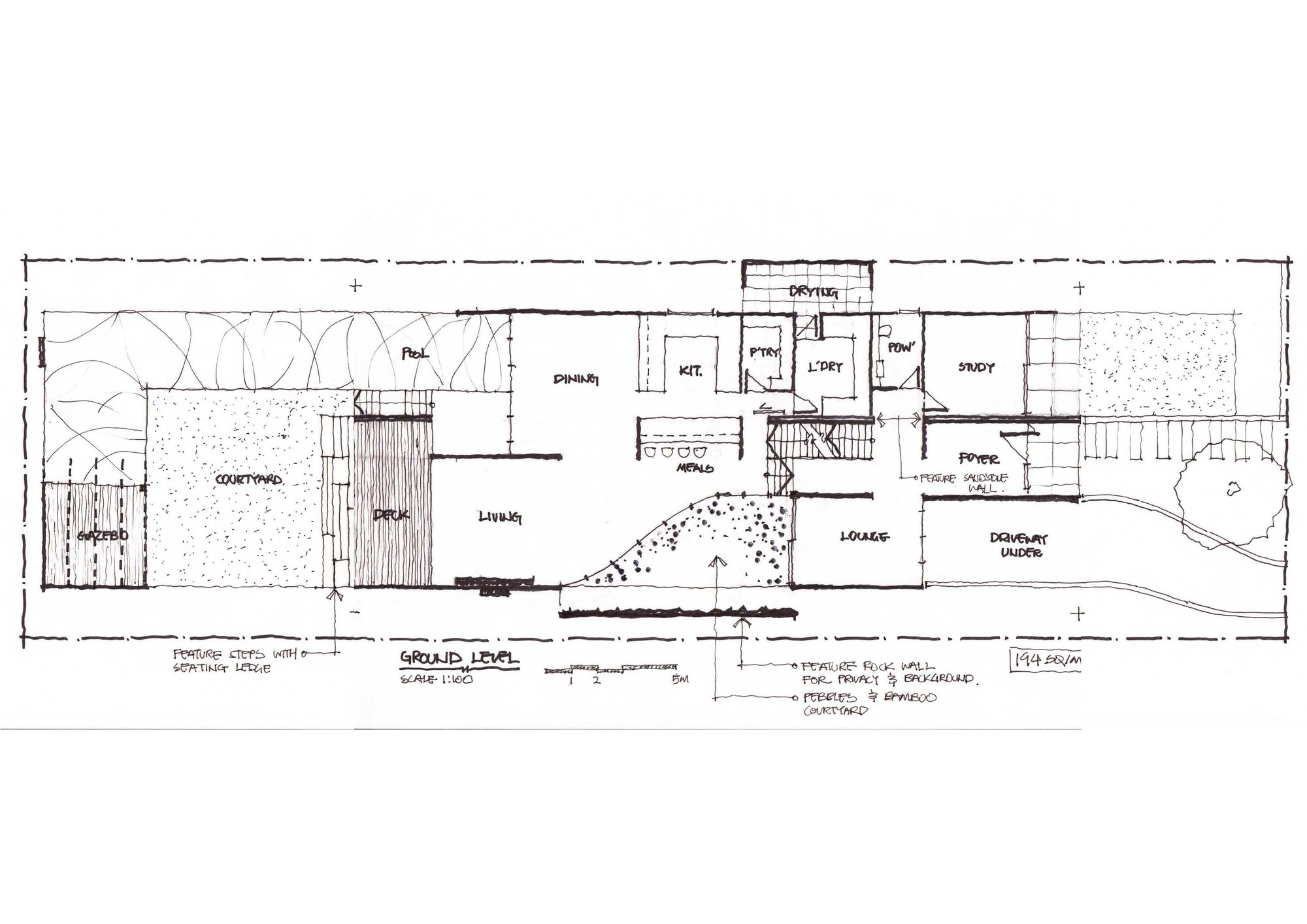 Gallery of box house zouk architects 12 for House plans with mudroom australia