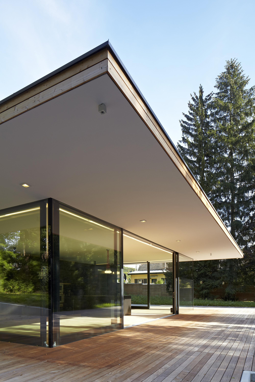 Gallery of haus hainbach moosmann 2 for Haus modern