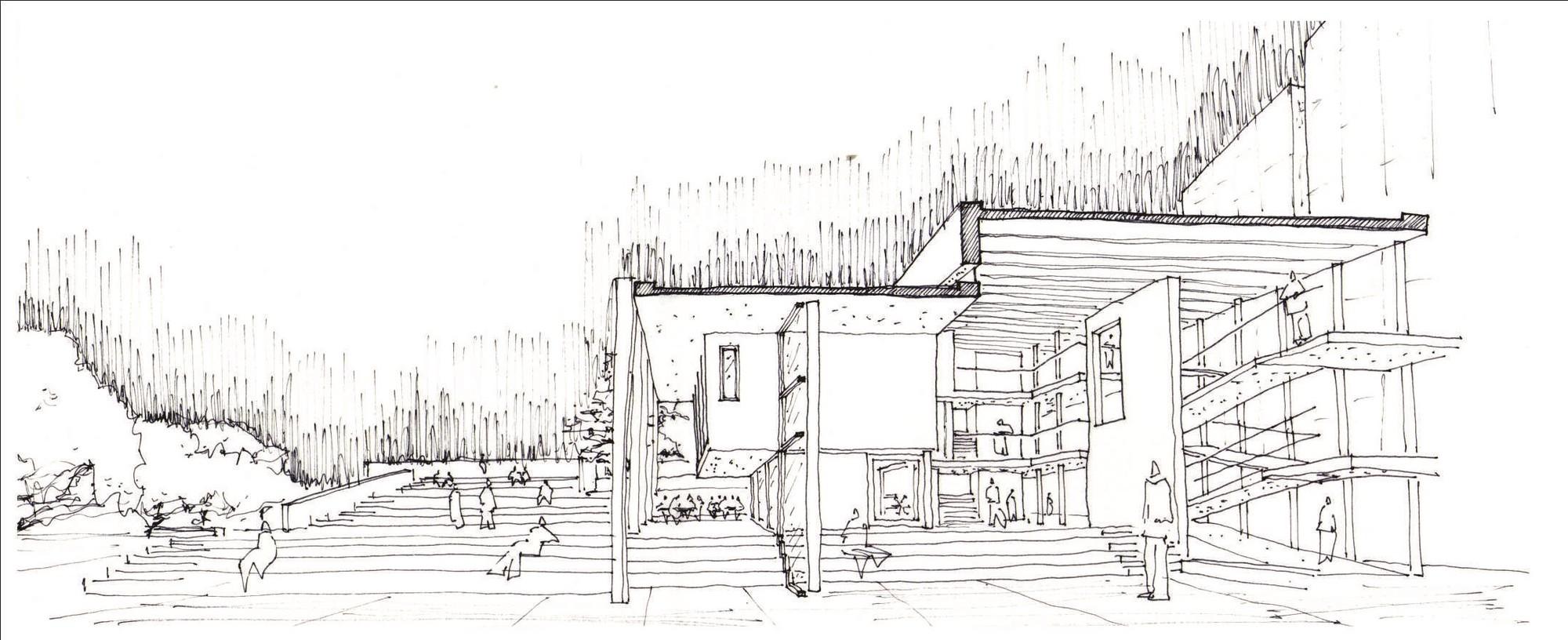Tercer Lugar. Image Courtesy of Colegio de Arquitectos de la Provincia de Buenos Aires