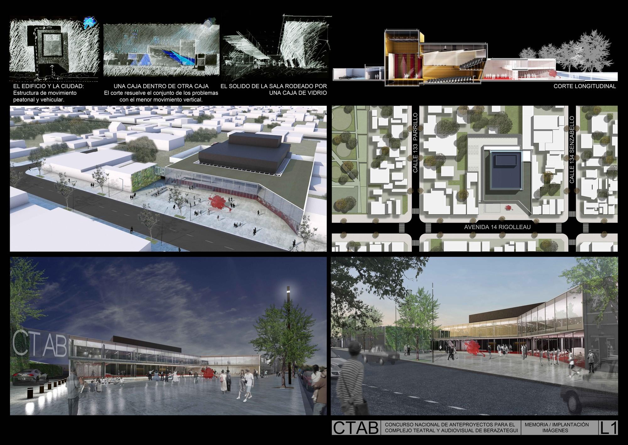 Lamina Mencion Equipo 22. Image Courtesy of Colegio de Arquitectos de la Provincia de Buenos Aires