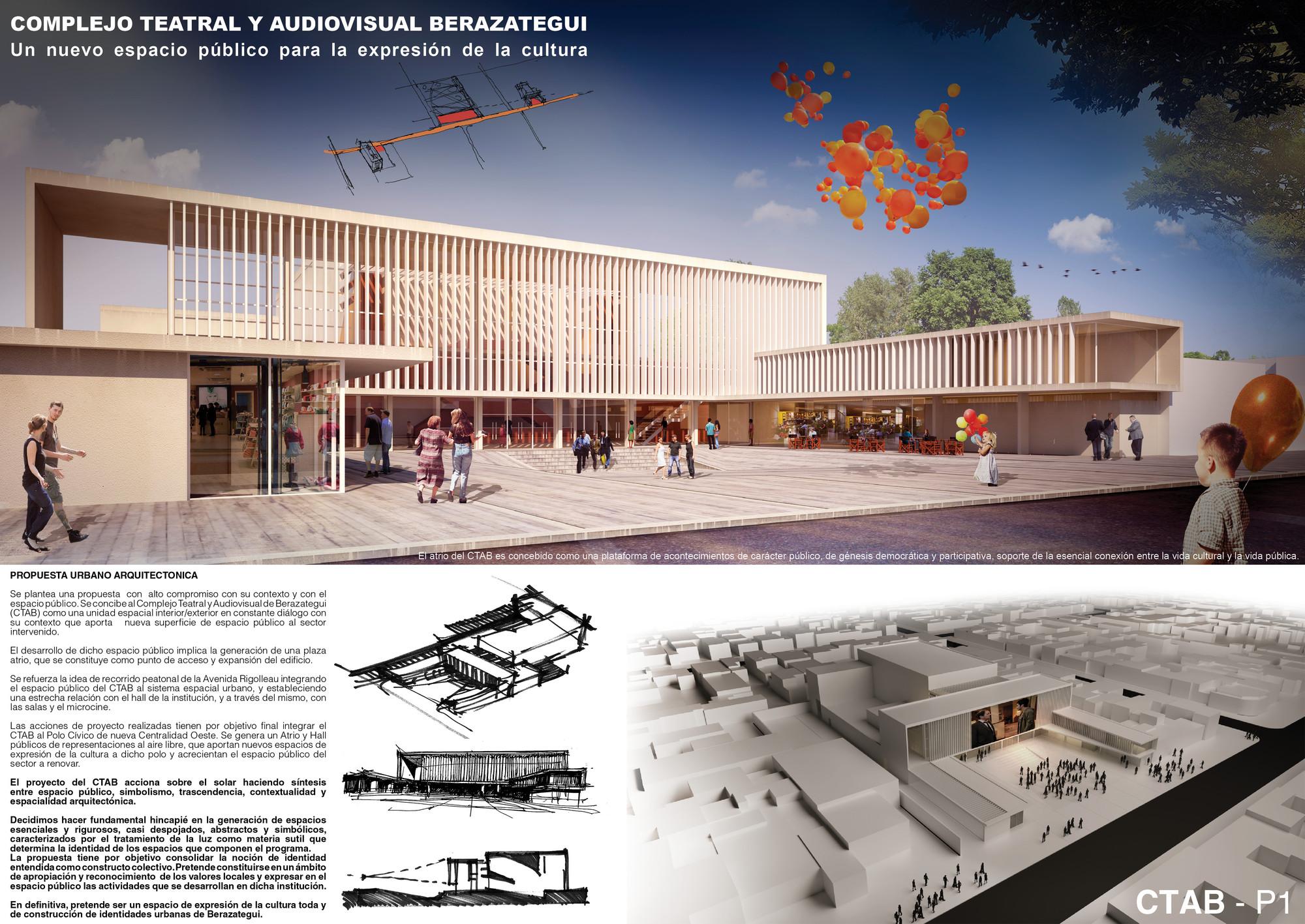 Lamina Mencion Equipo 60. Image Courtesy of Colegio de Arquitectos de la Provincia de Buenos Aires