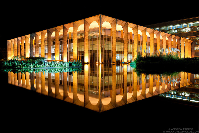 Architecture Photography At Night