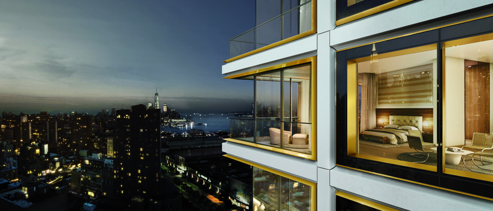 Foster + Partners Designs Luxury Residential Tower in Manhattan, © Foster + Partners