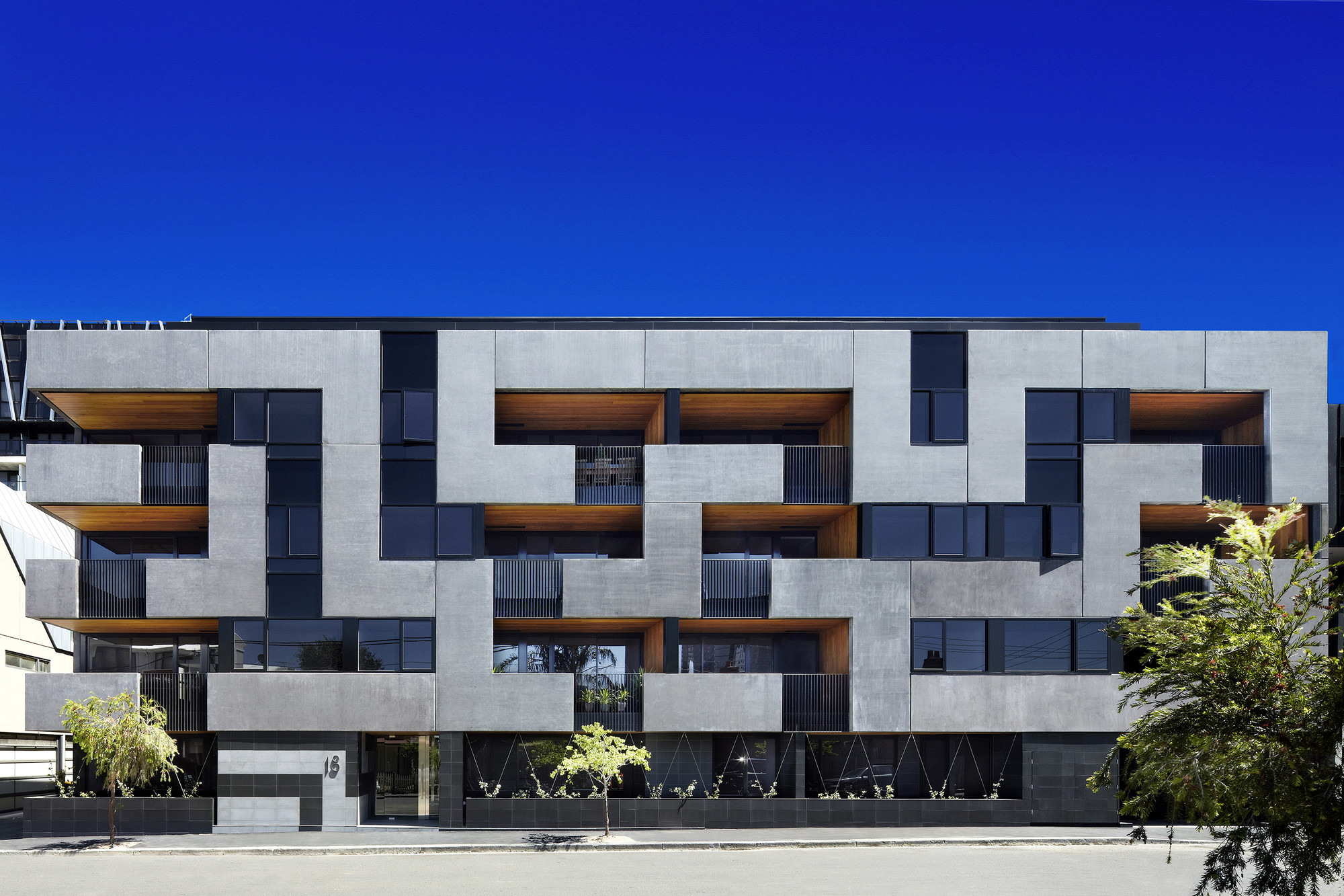 The Maze Apartments / CHT Architects, © Christine Francis