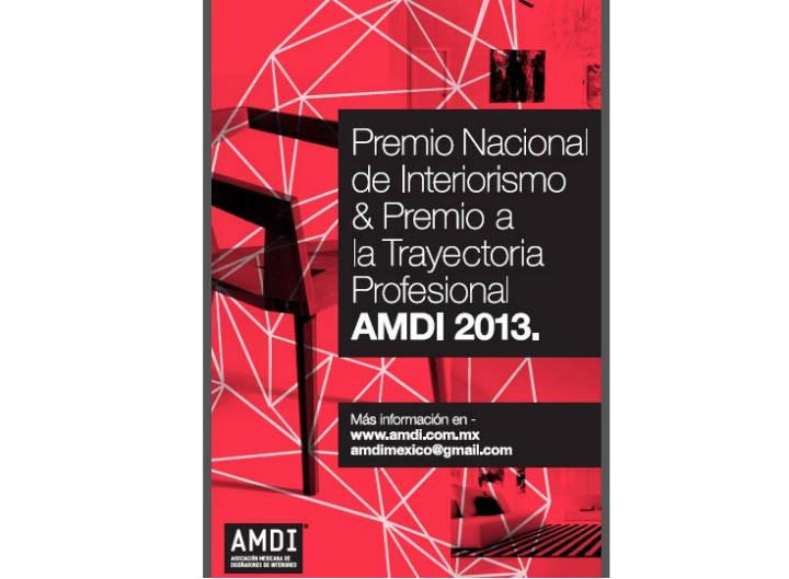Premio Nacional de Interiorismo y a la Trayectoria Profesional / AMDI 2013, Cortesía AMDI