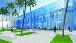 "Sou Fujimoto Designs ""Structural Waterfall"" for Miami"