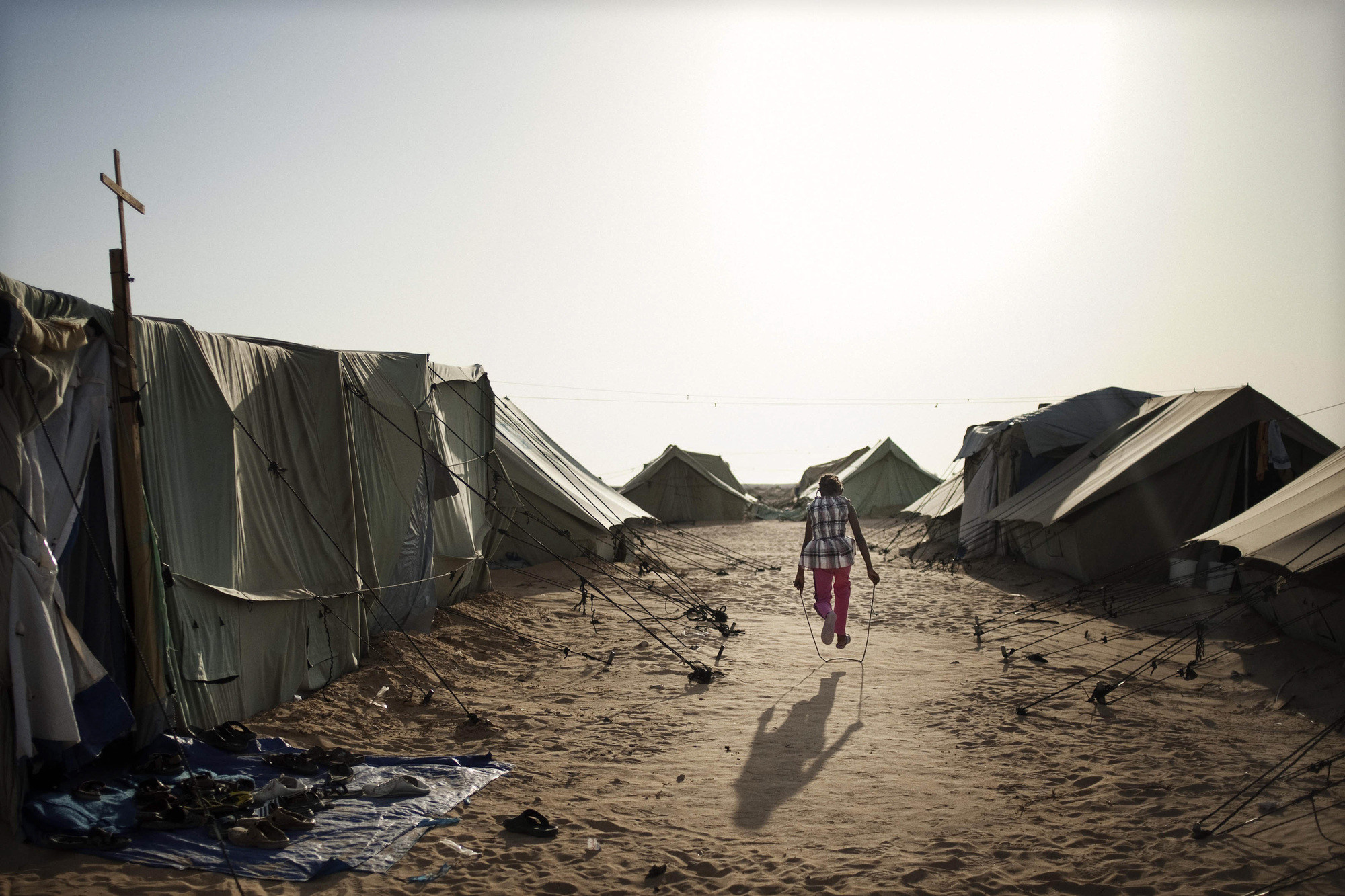 Beyond the Tent: Why Refugee Camps Need Architects (Now More than Ever), Courtesy of refugeecamp.ca
