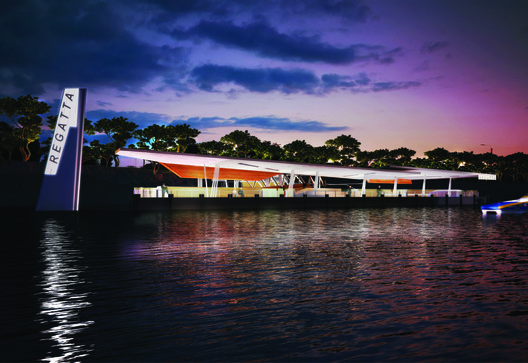 Future projects infrastructure winner: Brisbane Ferry Terminals Post-Flood Recovery, Australia by Cox Rayner Architects
