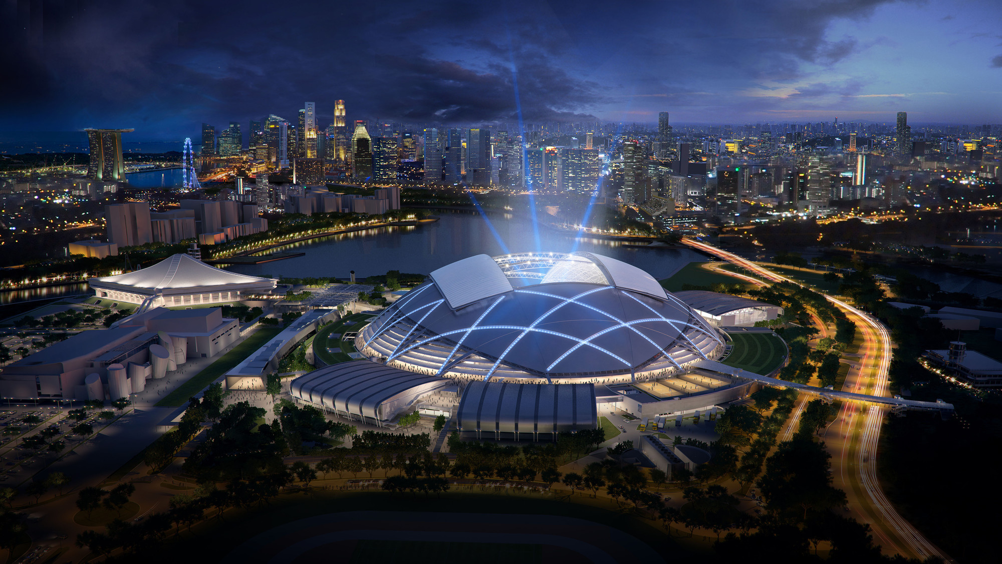 Future projects leisure-led development winner: Singapore Sports Hub by Singapore Sports Hub Design