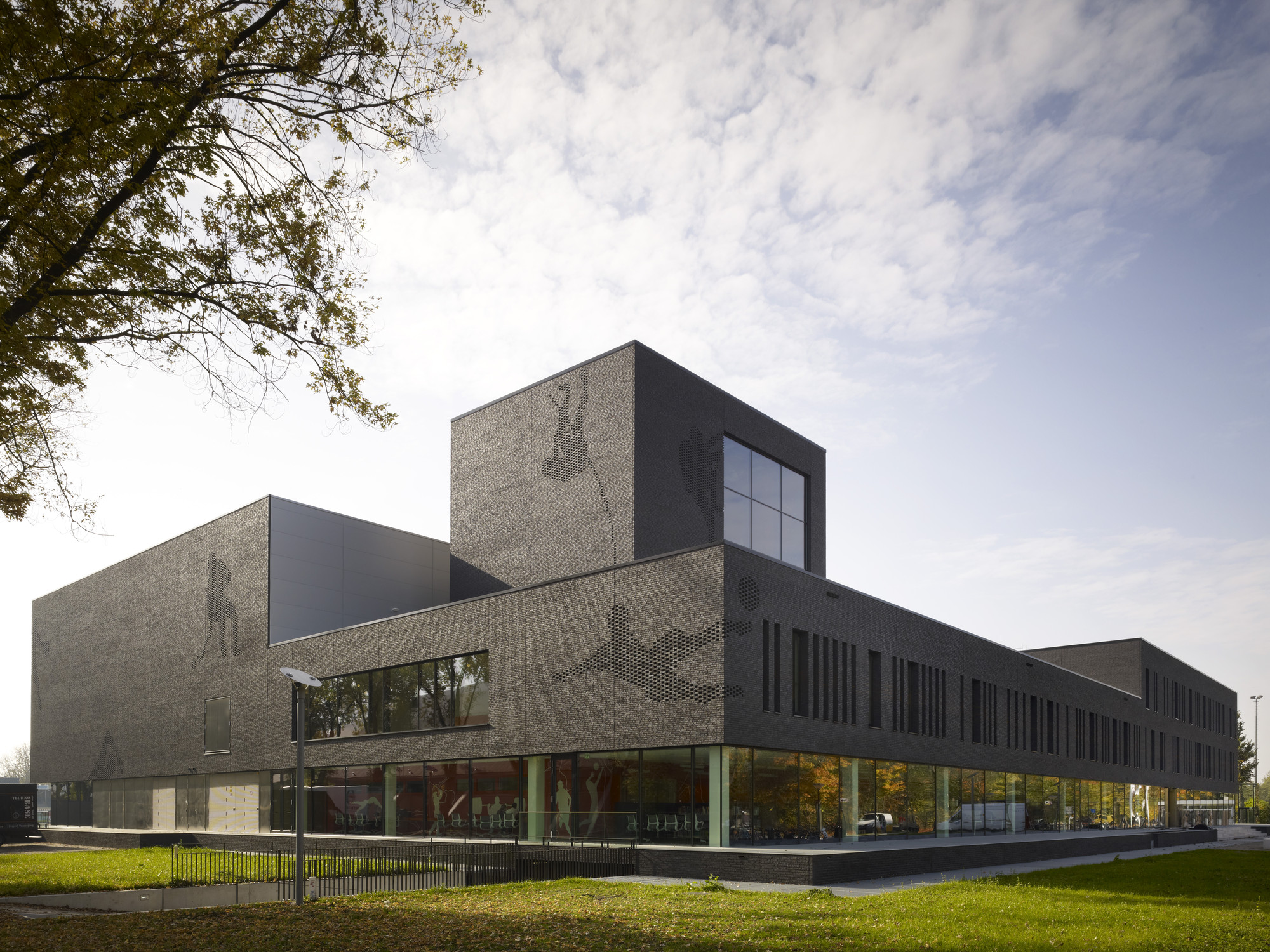 Schools winner: Fontys Sports College, Netherlands by Mecanoo International