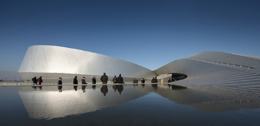 Winner display: Denmark's Aquarium - The Blue Planet by 3XN